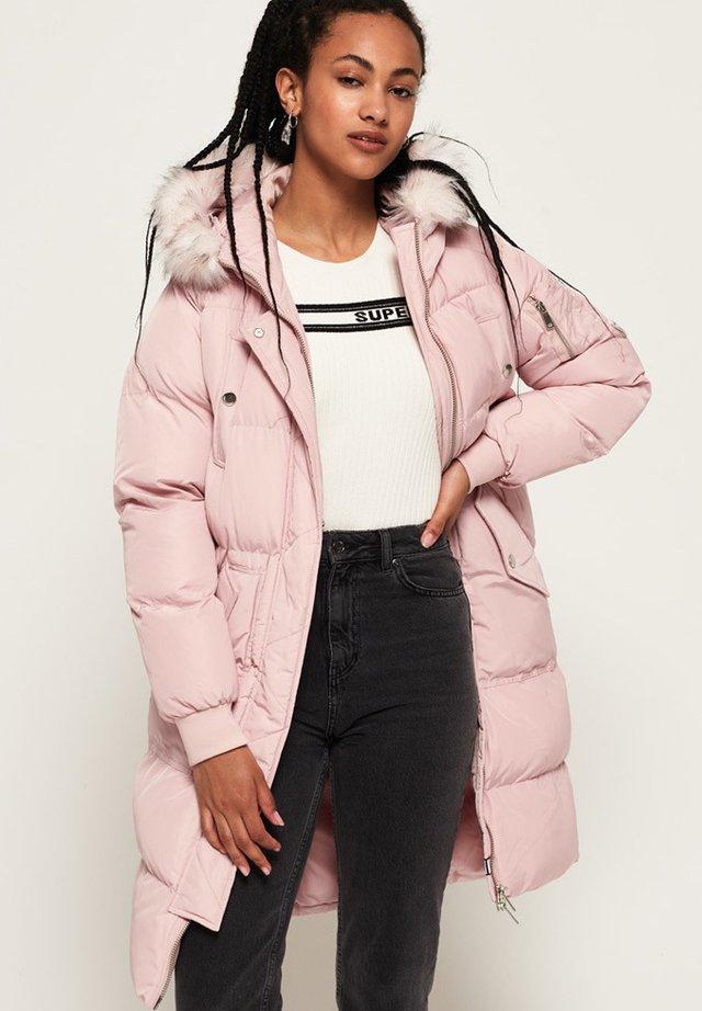 Zimní kabát - light pink