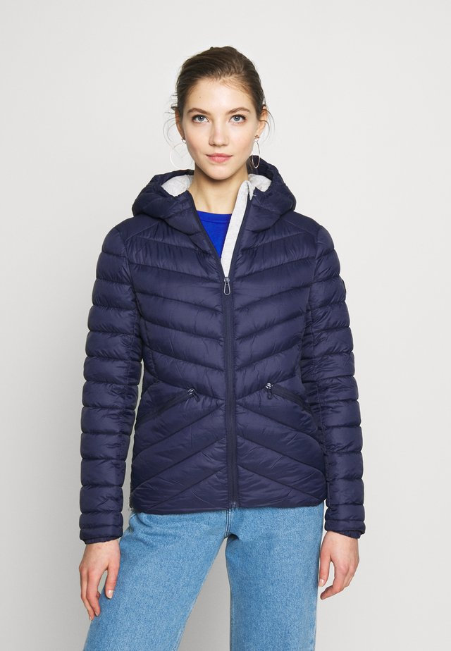 ESSENTIALS HELIO PADDED JACKET - Jas - atlantic navy