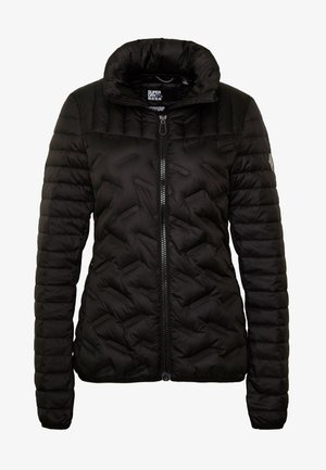 ESSENTIALS RADAR JACKET - Bunda z prachového peří - black