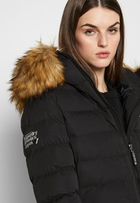 Superdry - NEW ARCTIC LONG PUFFER - Winter coat - black - 3