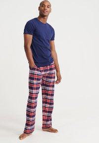 Superdry - Pyjamabroek - blue - 1