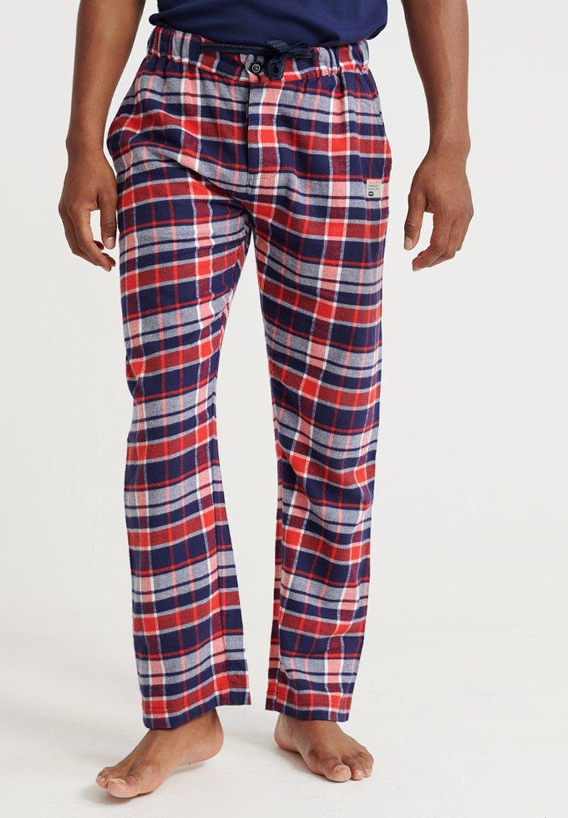 Superdry - Pyjamabroek - blue