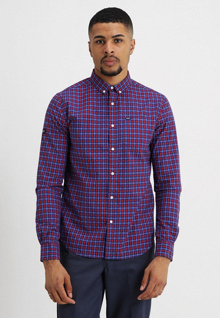 Superdry - ULTIMATE UNIVERSITY - Shirt - pembroke blue check