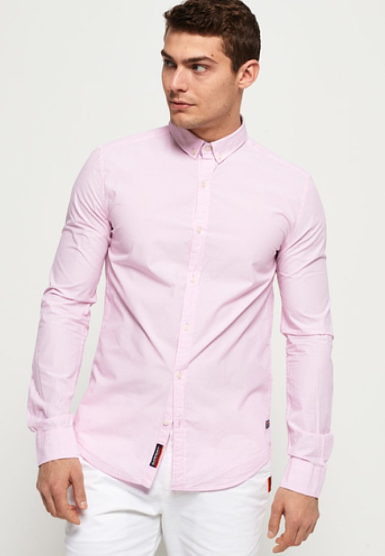 Superdry - INTERNATIONAL POPLIN - Shirt - rose
