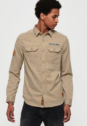 ROOKIE REPAIR - Shirt - desert herringbone