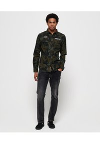 Superdry - ROOKIE REPAIR - Skjorta - khaki - 1