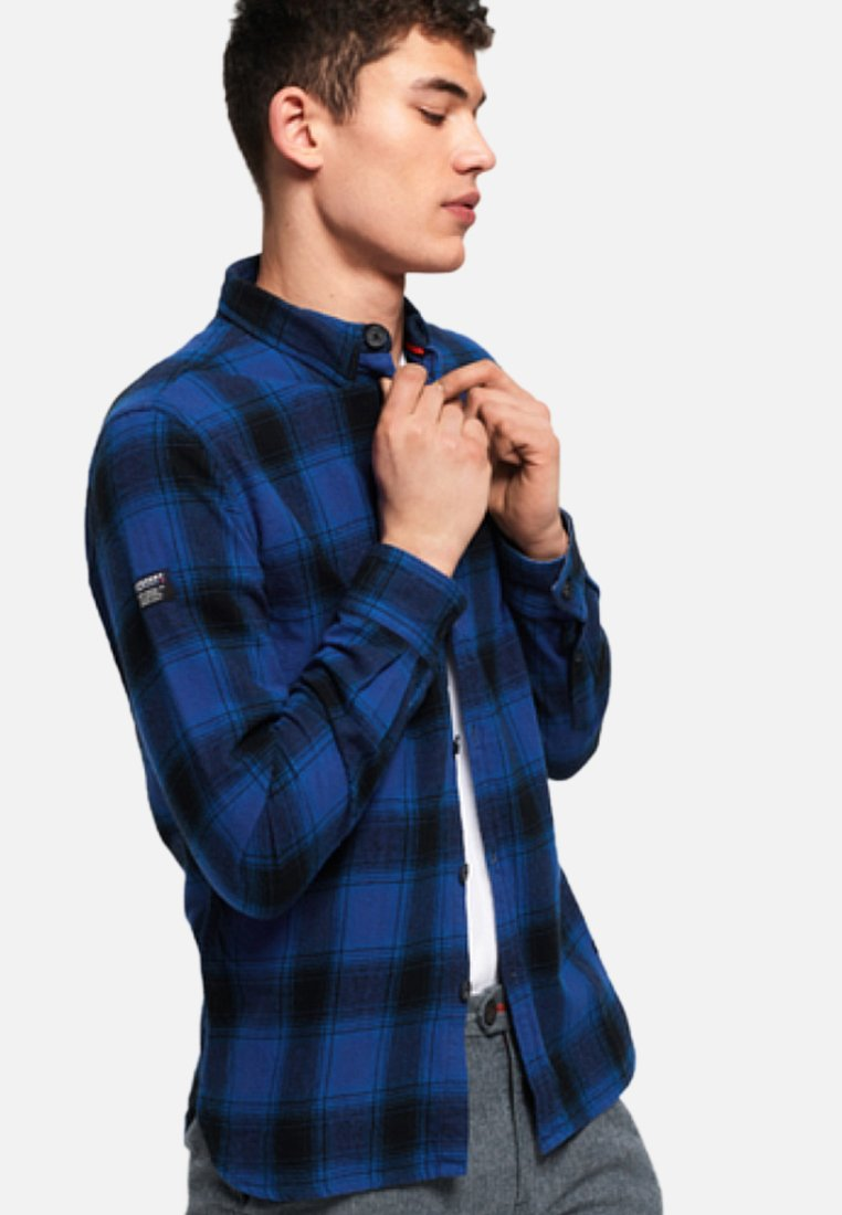 Superdry - ENGINEERED ROOKIE - Skjorter - blue