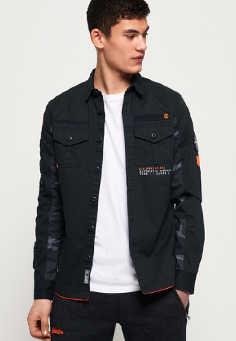 Superdry - Hemd - blue