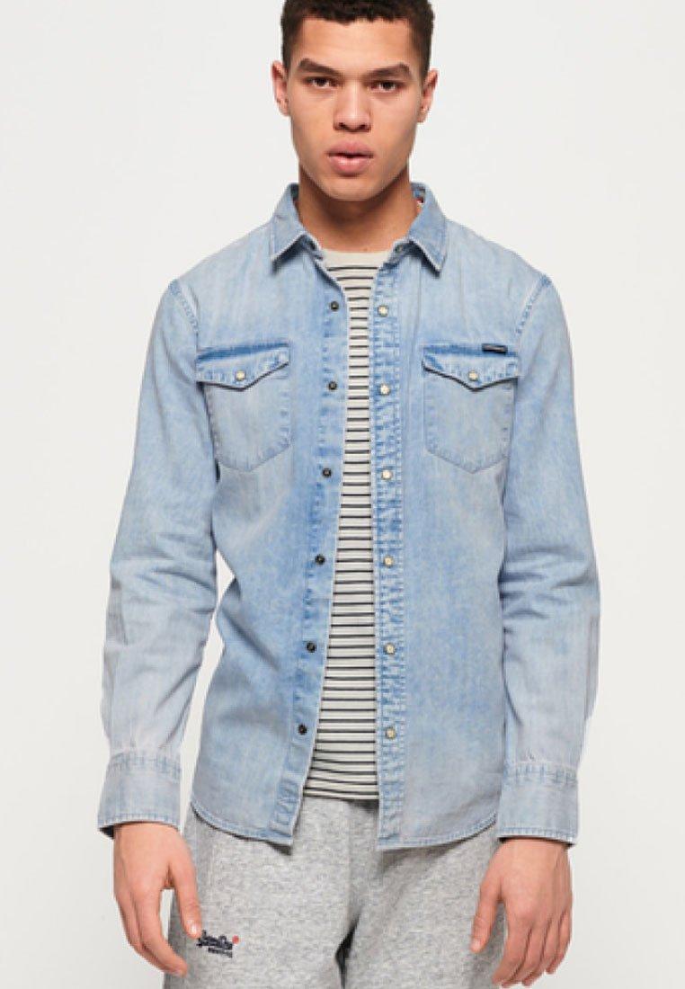 Superdry - Camisa - light blue