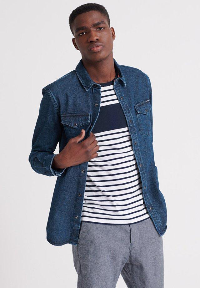 Overhemd - medium blue