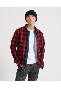 Superdry - LONG SLEEVE - Camicia - red - 0