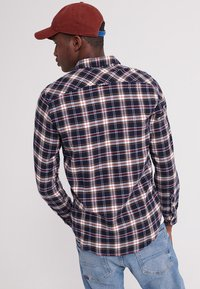 Superdry - LONG SLEEVE - Camicia - blue