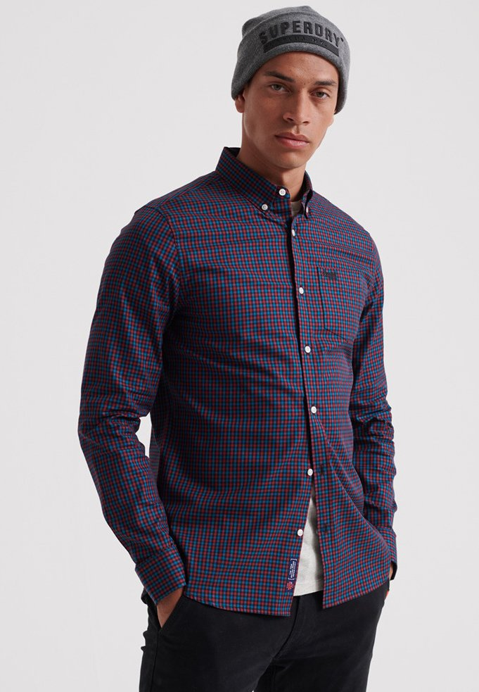 Superdry - LONDON  - Shirt - red