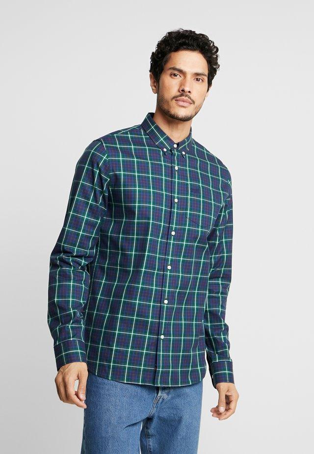 CLASSIC LONDON - Overhemd - green check