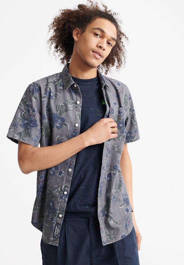 MIAMI LOOM BOX FIT SHIRT - Overhemd - vintage hawaiian grey