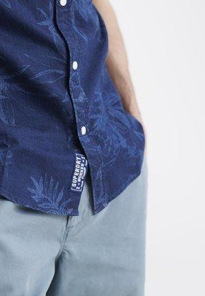 MIAMI LOOM BOX FIT SHIRT - Koszula - miami tropical indigo