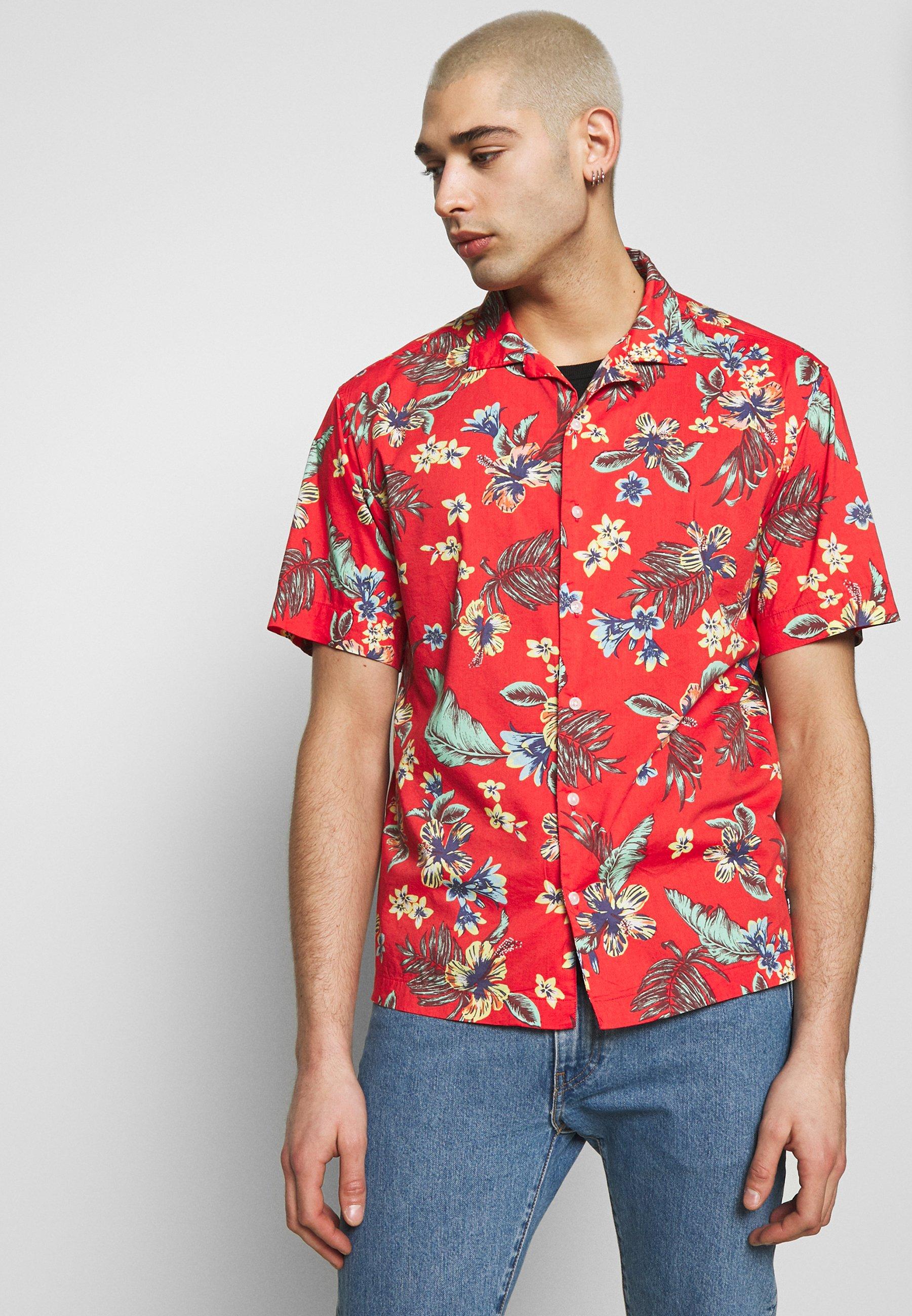 Superdry HAWAIIAN BOX - Koszula - vintage tropical red