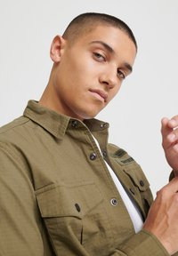 Superdry - Chemise - army green - 3