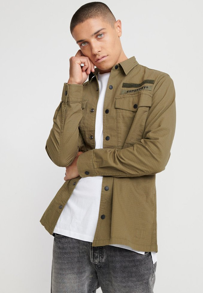 Superdry - Chemise - army green