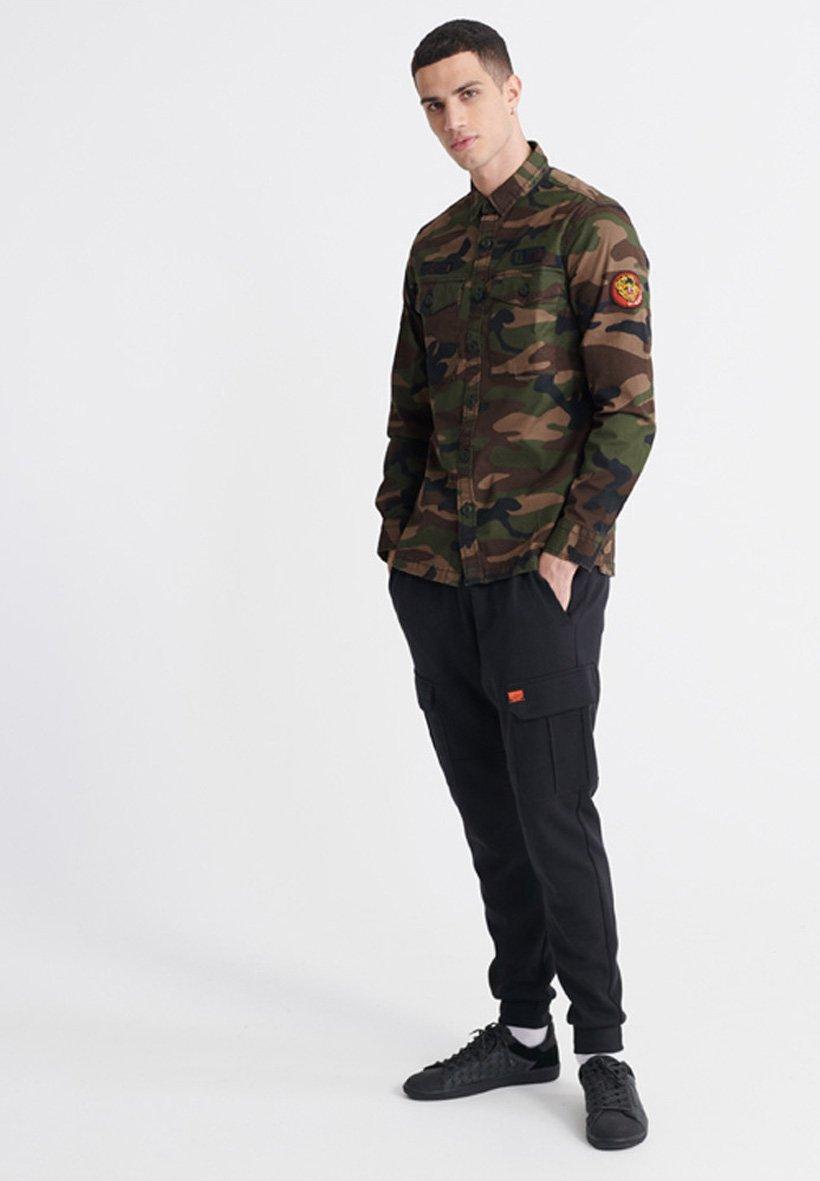 Superdry Long Sleeved - Skjorta Green
