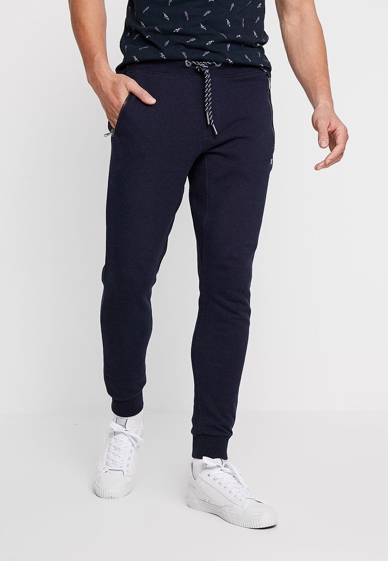 Superdry - COLLECTIVE JOGGER - Trainingsbroek - box navy