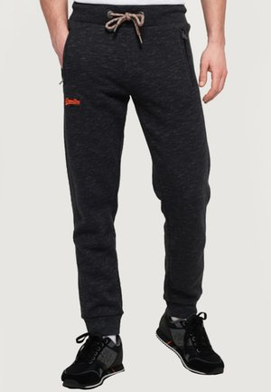 ORANGE LABEL - Pantalones deportivos - black