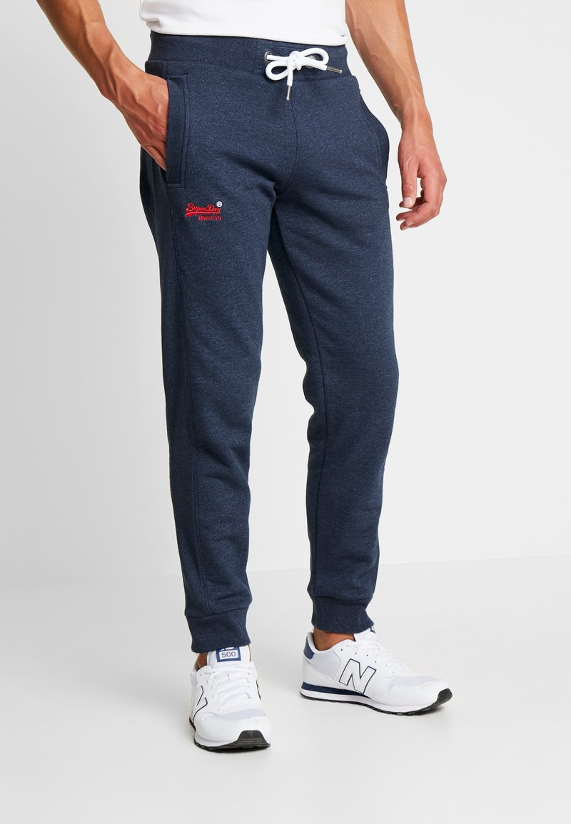 Superdry - ORANGE LABEL CLASSIC - Pantalon de survêtement - midnight blue feeder
