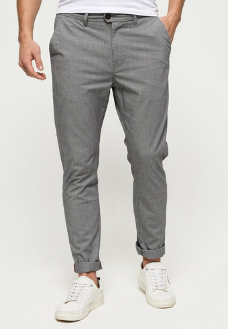 Superdry - INTERNATIONAL MERCHANT - Chino - grey