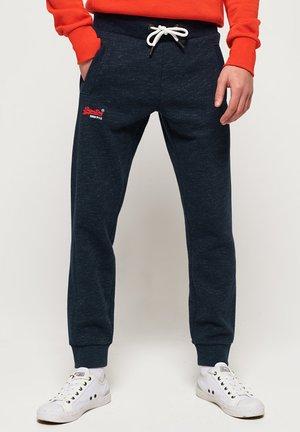 ORANGE LABEL - Pantalones deportivos - blue