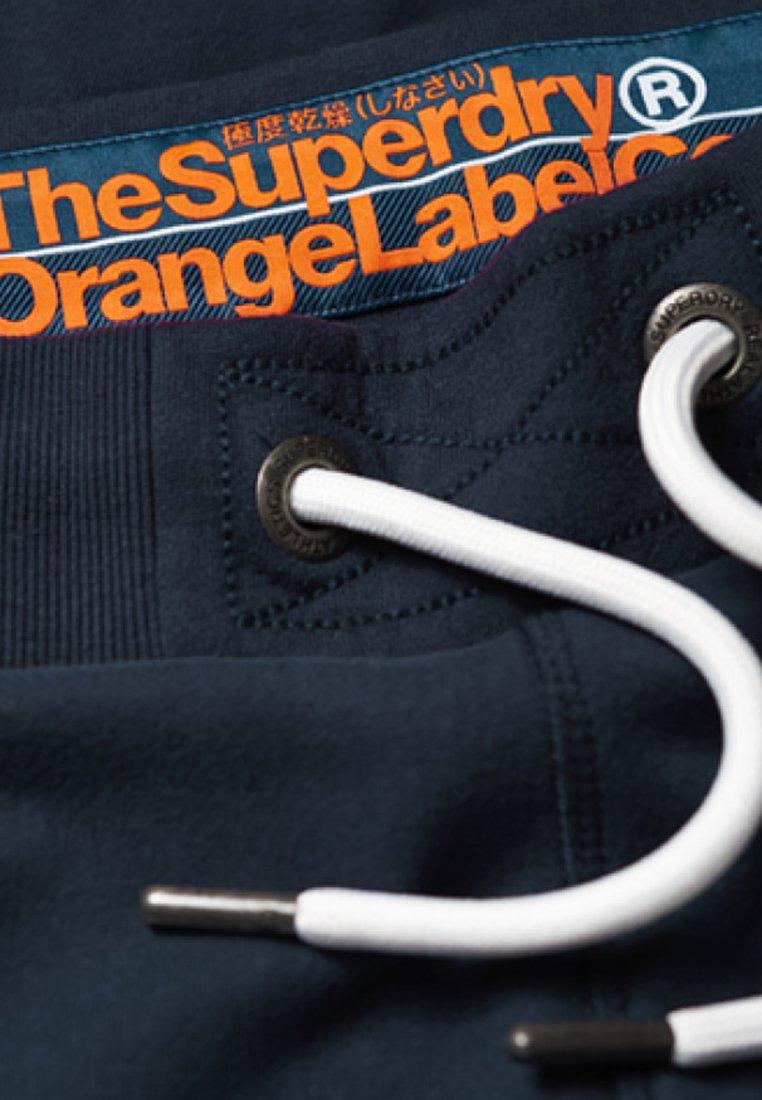 Superdry De Survêtement LabelPantalon Blue Orange Royal OPkuXZi