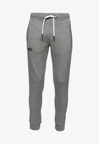 Superdry - ORANGE LABEL  - Pantalones deportivos - hammer grey grindle - 4