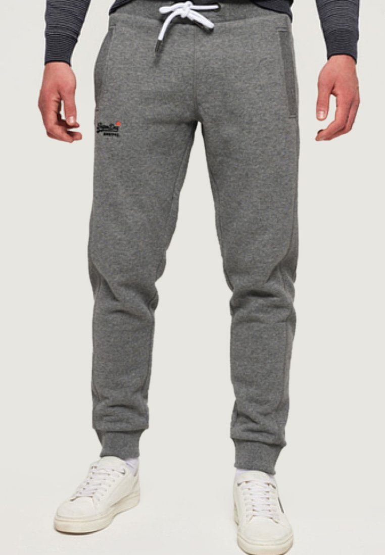 Superdry - ORANGE LABEL  - Pantalones deportivos - hammer grey grindle
