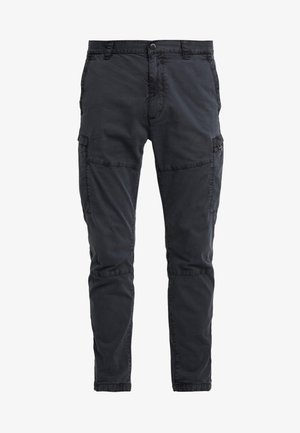 SURPLUS AVIATOR PANT - Bojówki - washed black