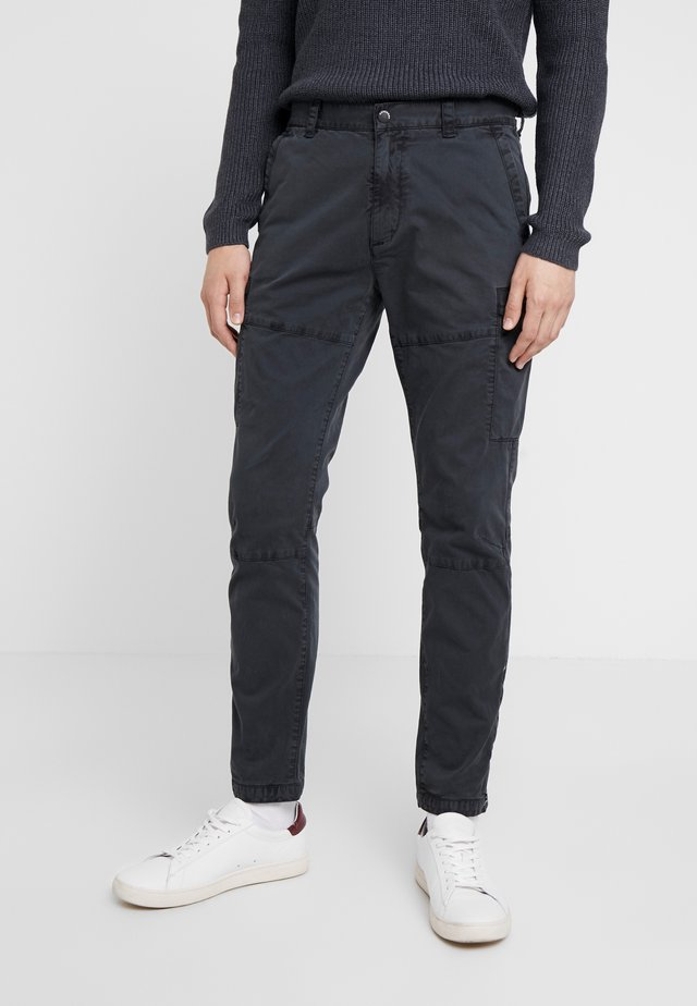 SURPLUS AVIATOR PANT - Cargo trousers - washed black