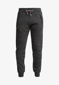 Superdry - CALI - Teplákové kalhoty - vast black space dye - 3