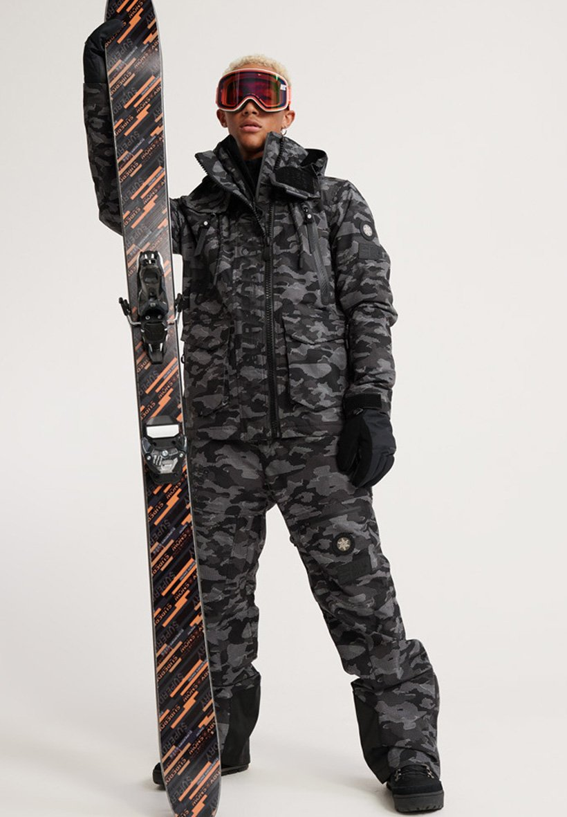 Superdry Pantalon de ski - black
