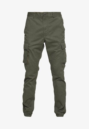 RECRUIT FLIGHT GRIP CARGO - Pantalon cargo - four leaf clover