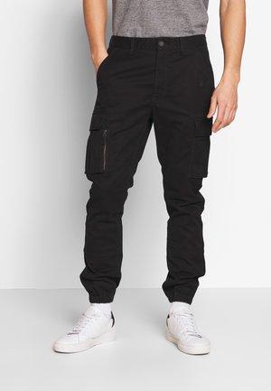 RECRUIT FLIGHT GRIP CARGO - Pantaloni cargo - black