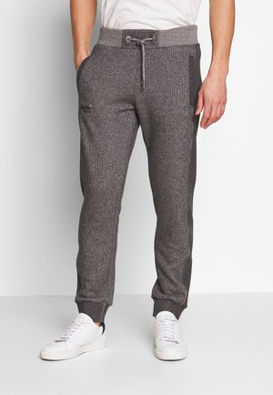 ORANGE LABEL CLASSIC - Teplákové kalhoty - mid grey texture