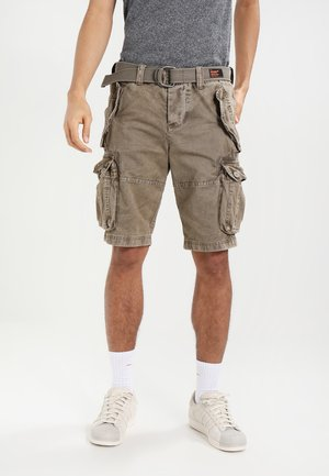 CORE CARGO HEAVY - Shorts - dust cloud