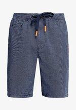 SUNSCORCHED - Shorts - dark blue/white