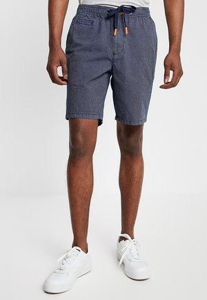 SUNSCORCHED - Shorts - dark blue/white