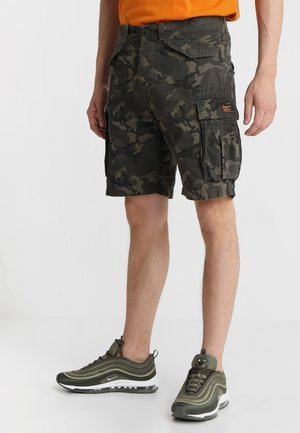 CORE LITE RIPSTOP CARGO - Shorts - alpine camo