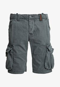 Superdry - CORE CARGO LITE - Shorts - chopper grey - 4