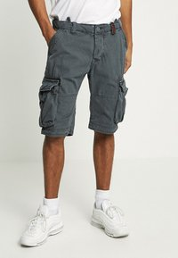 Superdry - CORE CARGO LITE - Shorts - chopper grey - 0