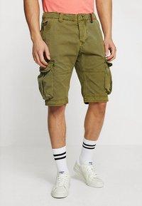 Superdry - CORE CARGO LITE - Shorts - burnt sage - 0