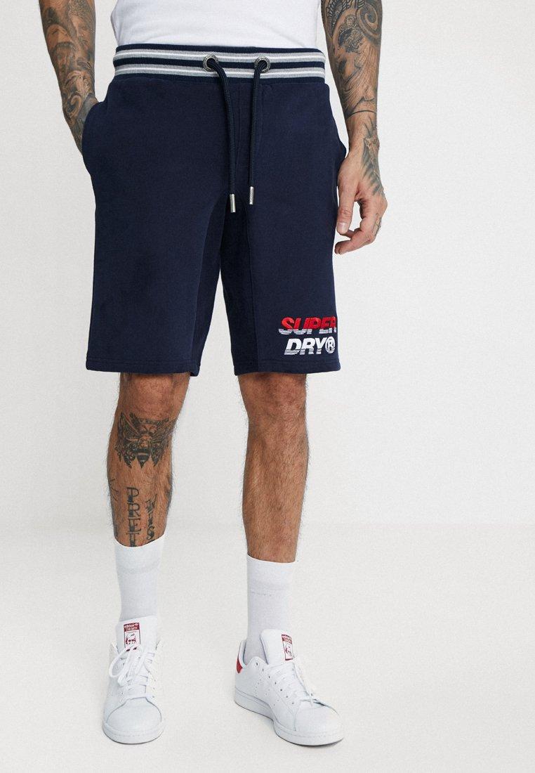 Superdry - SMART APPLIQUE - Pantaloni sportivi - true royal navy