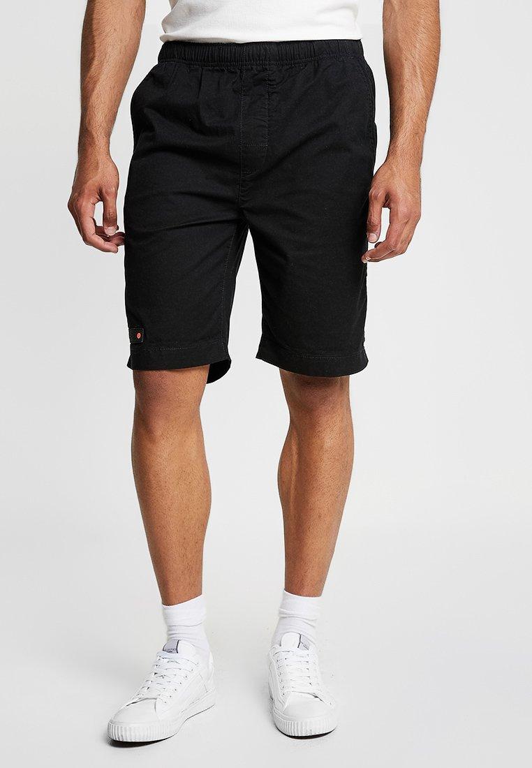 Superdry - WORLD WIDE - Shorts - black