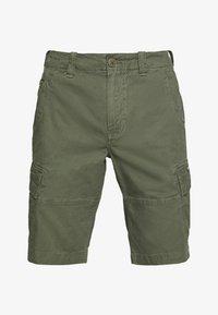 Superdry - CORE CARGO SHORTS - Shorts - draft olive - 4