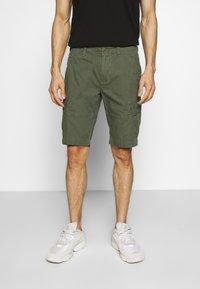 Superdry - CORE CARGO SHORTS - Shorts - draft olive - 0